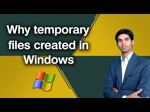 What Is Temporary File in Windows ? .tmp file extension details. - 동영상