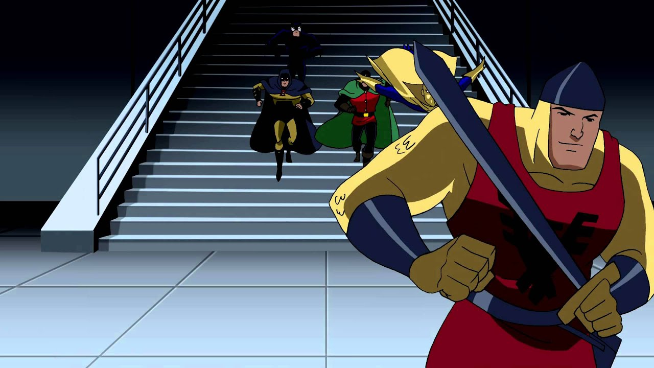 """Justice League Unlimited """"The Destroyer"""" Stair Montage ..."""