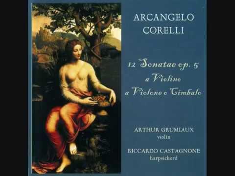 A. Corelli | Keman Sonatı No. 4, Fa Majör, Op. 5