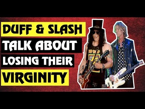 Guns N' Roses News  Slash and Duff Talk About Their First Time!
