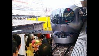 【西武鉄道新型特急】001系Laview 一番列車出発式