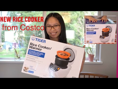 Unboxing Rice Cooker/Tiger Brand