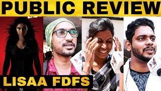 Lisaa FDFS Public Review | Anjali | Sam Jones | Makarand Deshpande | Yogi Babu | Raju Viswanath