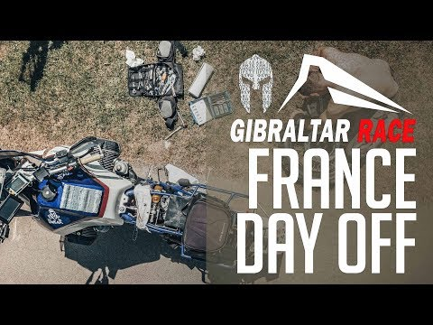 Gibraltar Race 2018: Day 9 In Lourdes, France. A Day Off.