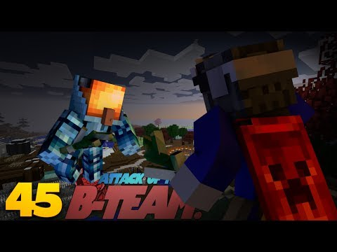 Minecraft MAGIC! Minecraft Witchery Mod BATTLES! Attack Of The B Team Minecraft Mod Survival (45)