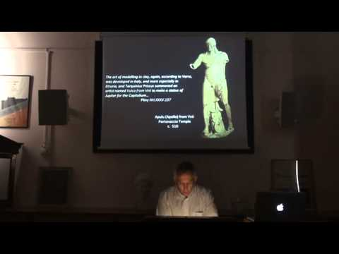 "Lecture entitled ""Euthykartides' Feet: Signatures, Status, and Originality in Greek Art"""