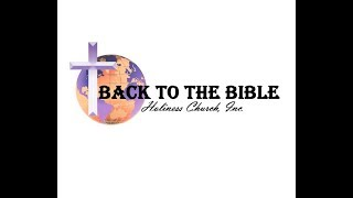 BTTBHC, INC. - God's Word in Your Life