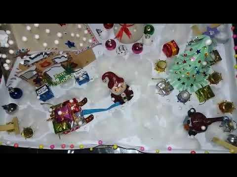 DIY Handmade Miniature Christmas Village