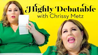 Chrissy Metz Answers Our Tough Questions | Highly Debatable | Good Housekeeping