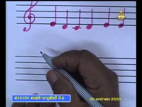 093 P6mus 550130 C ดนตรีนาฏศิลป์ป 6