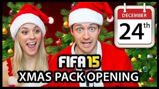 XMAS ADVENT CALENDAR PACK OPENING #24 - FIFA 15 ULTIMATE TEAM Thumbnail