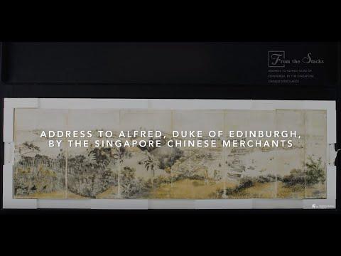 Address To Alfred, Duke Of Edinburgh, by The Singapore Chinese Merchants