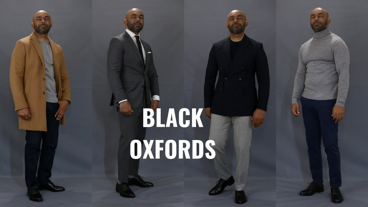 How To Wear Black Oxfords The Only