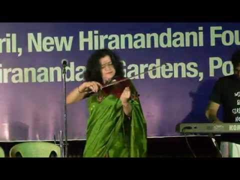 Perfoming Indo Jazz music