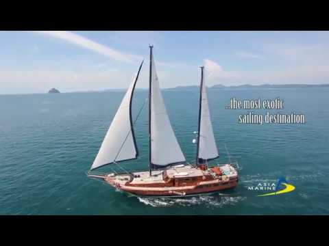 Ketch 98 - Capricorn charter monohull - Asia Marine Phuket Thailand