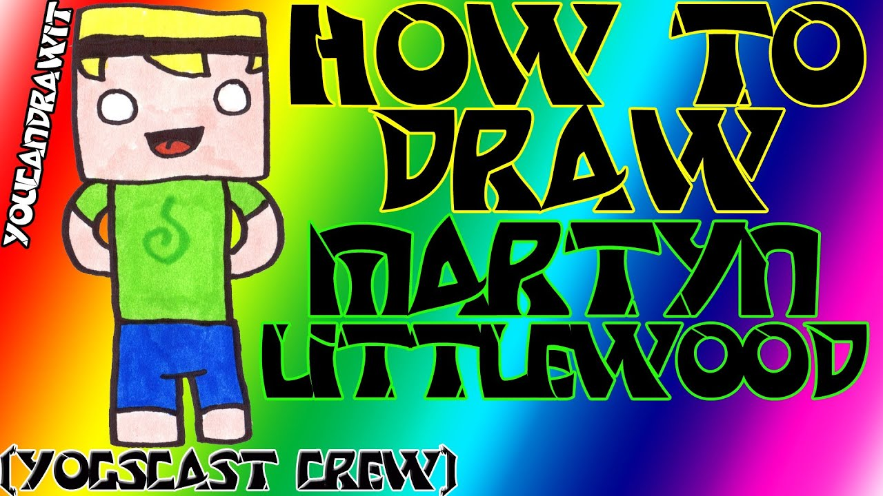 How To Draw InTheLittleWood (yogscast crew) Minecraft ...