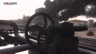 الحوثيون يقصفون مصفاة عدن للمرة الثالثة