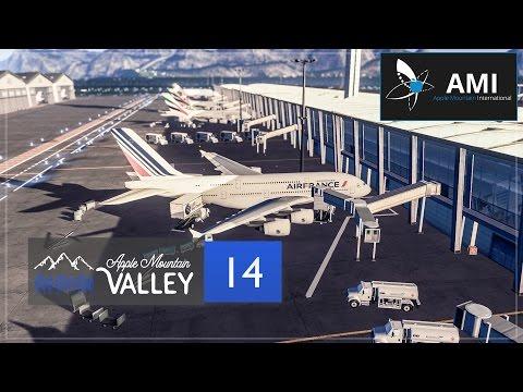 Cities Skylines Apple Mountain Valley - Part 14 - Apple Mountain International Airport