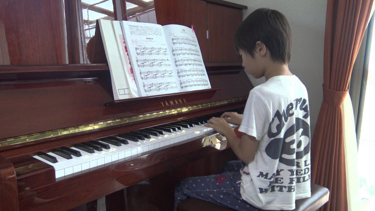 ≪ピアノ練習≫ ドミトリー・カバ...