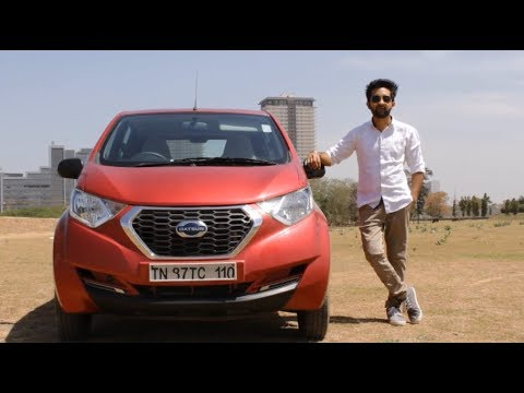 2019 Datsun Redigo AMT Review - VFM Automatic Hatchback - SpeedHounds