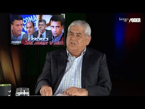 """CARLOS ORTEGA: """"EL GOBIERNO BARRE Y TRAPEAN EL PISO CON LA OPOSICIÓN"""""""