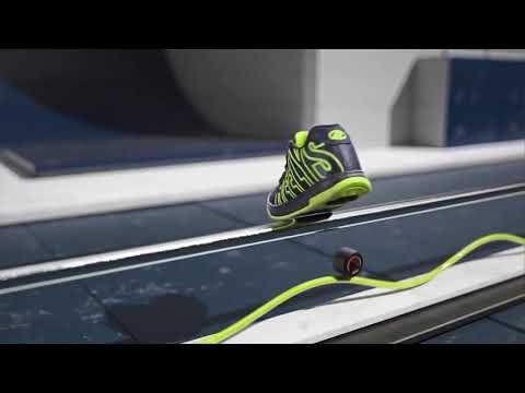 Кроссовки с Алиэкспресс/ Кроссовки на платформе из Китая - YouTube