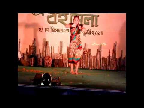 king badanti silpi manna de 29 tama manch bankura district book festival little girl dansing