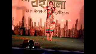 king badanti silpi manna de 29 tama manch bankura district book festival little girl dansing