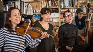 The Haden Triplets: NPR Music Tiny Desk Concert