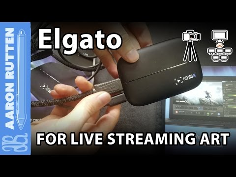 Live Streaming Digital Art With Elgato HD 60S - Review & Unboxing