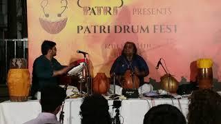 Wave Drum and Ghatam - Sarvesh Karthick & Ghatam Karthick. Khanda Chapu Thalam - Nandhi Sthuthi