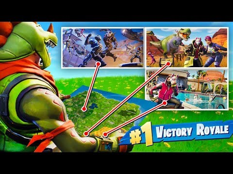 The *RANDOM* Loading Screen Challenge In Fortnite Battle Royale!