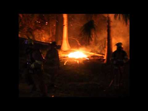 Bush Fire St Georges Bermuda November 22 2011