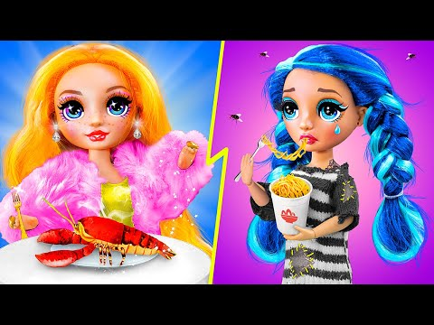 Sinh Viên Giàu vs Sinh Viên Nghèo / 11 Mẹo Làm Đồ Thủ Công Cho Barbie