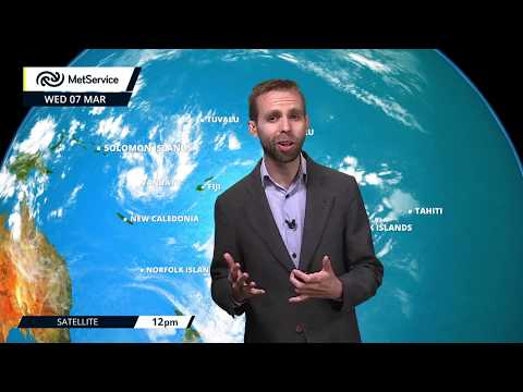 Tropical Cyclone Hola update : Thurs8Mar2018 (NZ Met Service)