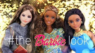 Unbox Daily: #THEBARBIELOOK | Barbie Curvy Articulated, New Fashion, PLUS EASY Quick Craft