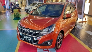 In Depth Tour Daihatsu Ayla 1.2 R M/T Facelift 2017 - Varian paling Value for Money