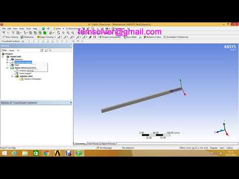Applying Forces on Nodes at an Angle in Ansys Workbench by