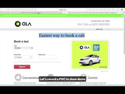 Ola Cabs Security Issue Discovered by Attify