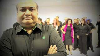 Moves Like Jagger -- Official Music Video (Maxis Senior Management Team Performance)
