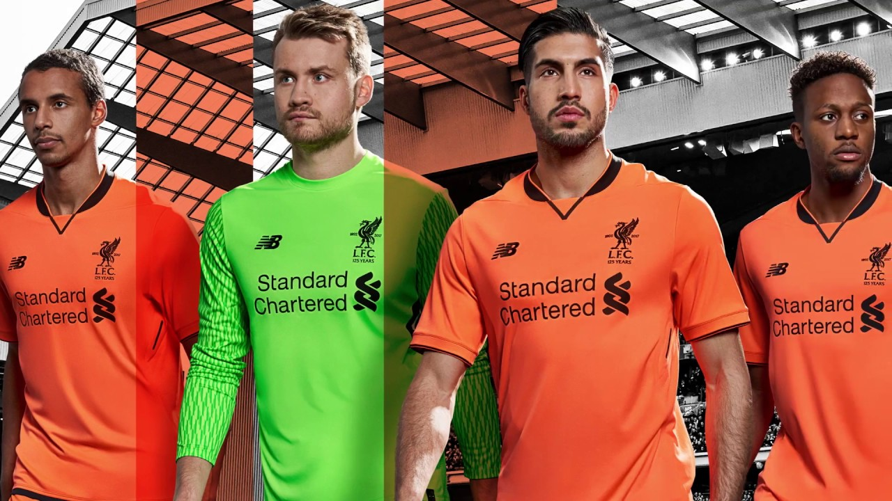 0bc876e5c72 Revealed  Liverpool s 2017-18 third kit. Liverpool FC
