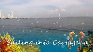 Sailing into Cartagena 2013