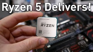 AMD Ryzen 5 1600X & 1500X Review: Real Enthusiast CPUs!