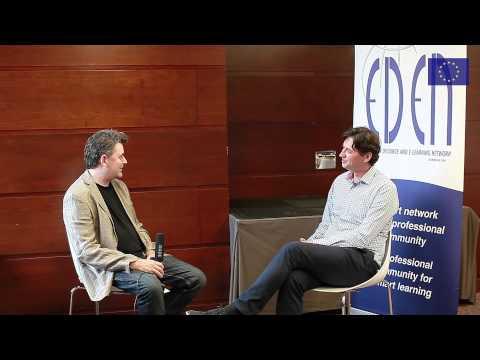 Networks are Everything - Maarten de Laat Interview by Steve Wheeler #EDEN15
