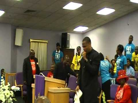 Min.Jermaine Williams-Youth Conference 2011