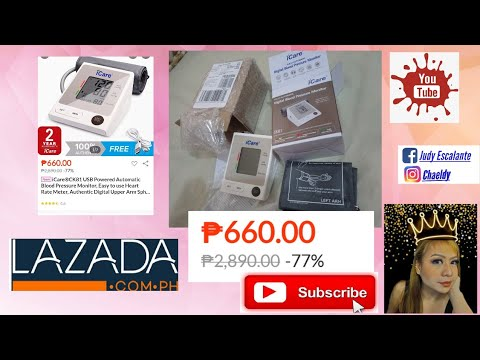 icare-digital-blood-pressure-monitor-unboxing-&-testing