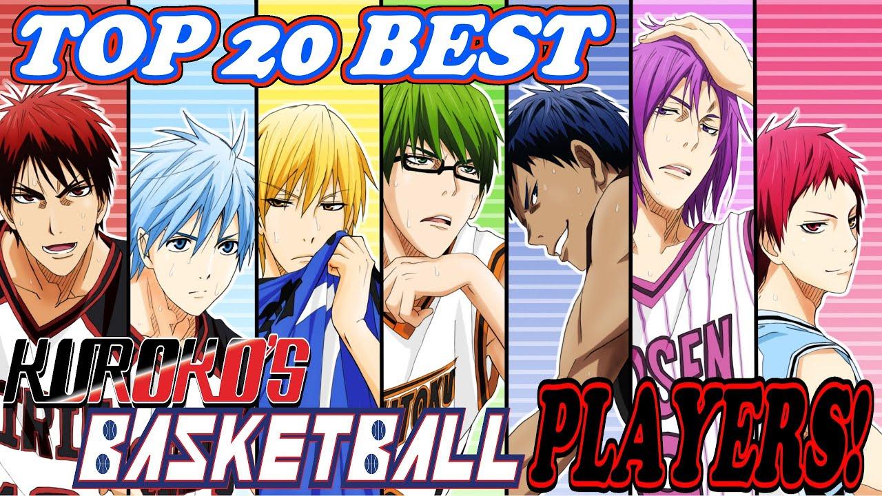Top 20 best kurokos basketball players series finale top 20 best kurokos basketball players series finale youtube voltagebd Images