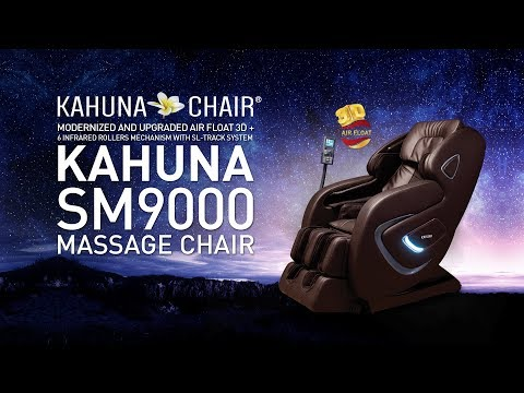 3D+ Air Float with 6 Infrared Roller Kahuna massage chair SM-9000