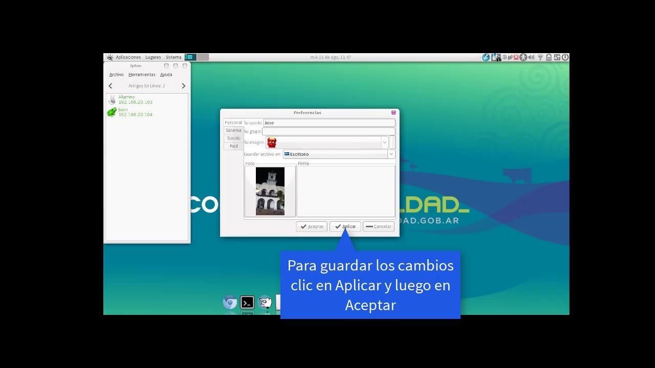 iptux for windows 7