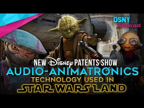 Disney Patents NEW Audio-Animatronic Technology for 'Star Wars Land' - Disney News - 6/11/17